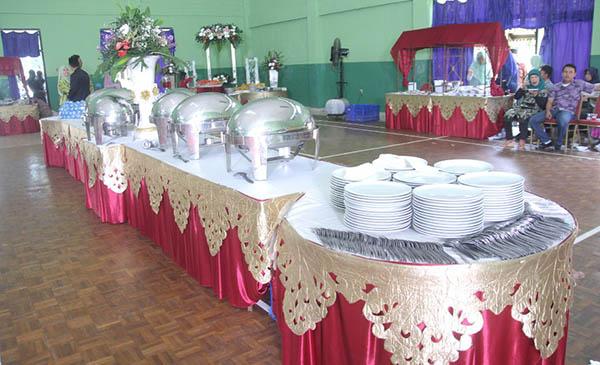 Catering Prasmanan pernikahan di Ciracas