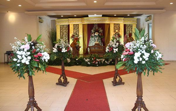 Paket catering pernikahan 400 porsi di rumah dan gedung