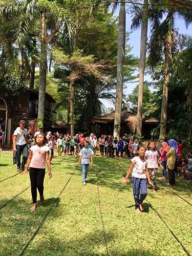 Wisata alam edukasi anak di bintaro Tangerang Kandank Jurank Doank