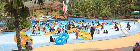 wisata aquatic di bogor 03 The Jungle Waterpark Bogor